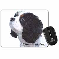 Tri-Col King Charles-With Love Computer Mouse Mat Christmas Gift Idea