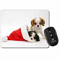 Christmas King Charles Computer Mouse Mat Birthday Gift Idea