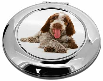 Italian Spinone Dog Make-Up Round Compact Mirror Girly Gift