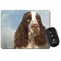 Springer Spaniel Computer Mouse Mat Birthday Gift Idea