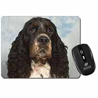 Springer Spaniel Dogs Computer Mouse Mat Christmas Gift Idea