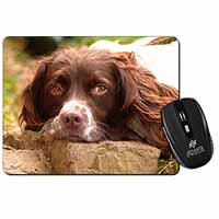 Springer Spaniel Dog Computer Mouse Mat Birthday Gift Idea