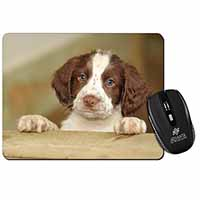 Springer Spaniel Puppy Dog Computer Mouse Mat Birthday Gift Idea