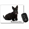 Scottish Terrier Dog-With Love Computer Mouse Mat Christmas Gift Idea
