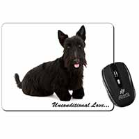 Scottish Terrier Dog-With Love Computer Mouse Mat Birthday Gift Idea
