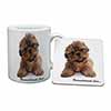 Shih-Tzu Dog-Love Mug+Coaster Christmas/Birthday Gift Idea