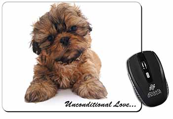Shih-Tzu Dog-Love Computer Mouse Mat Birthday Gift Idea