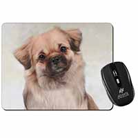 Tibetan Spaniel Dog Computer Mouse Mat Birthday Gift Idea