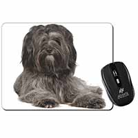 Tibetan Terrier Dog Computer Mouse Mat Birthday Gift Idea