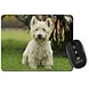 West Highland Terrier Dog Computer Mouse Mat Christmas Gift Idea