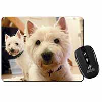 West Highland Terrier Dogs Computer Mouse Mat Christmas Gift Idea