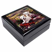 West Highland Terriers Keepsake/Jewel Box Birthday Gift Idea