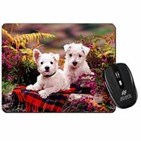 West Highland Terriers Computer Mouse Mat Birthday Gift Idea