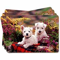 West Highland Terriers Picture Placemats in Gift Box