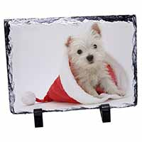 West Highland Terrier Dog Photo Slate Photo Ornament Gift