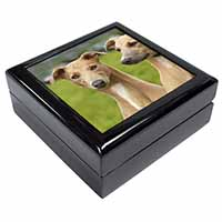 Whippet Dogs Keepsake/Jewel Box Birthday Gift Idea