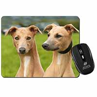 Whippet Dogs Computer Mouse Mat Birthday Gift Idea