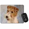 Fox Terrier Dog Computer Mouse Mat Christmas Gift Idea