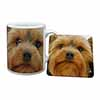 Yorkshire Terrier Dog Mug+Coaster Christmas/Birthday Gift Idea