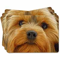 Yorkshire Terrier Dog Picture Placemats in Gift Box