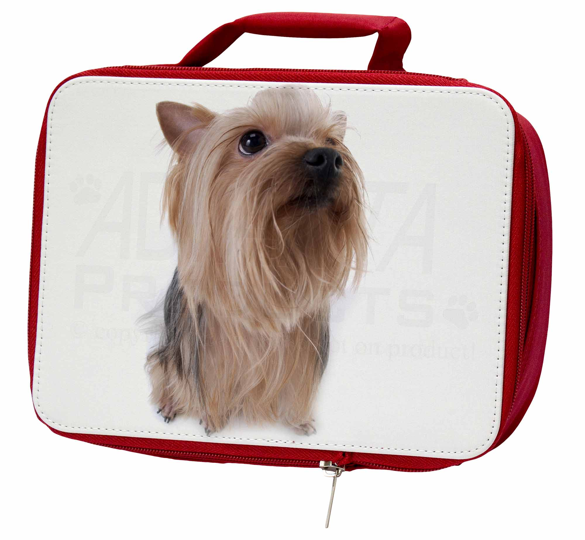 Yorkshire Terrier Insulated School Red School Insulated Lunch Box/Picnic Bag, AD-Y2LBR b8ff6b