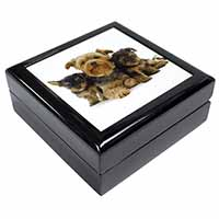Yorkshire Terrier Dogs Keepsake/Jewellery Box Birthday Gift Idea
