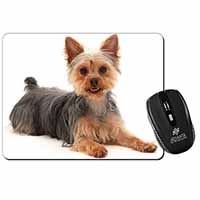 Yorkshire Terrier Dog Computer Mouse Mat Birthday Gift Idea