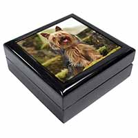 Yorkshire Terrier Dog Keepsake/Jewellery Box Christmas Gift