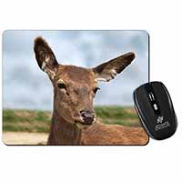 A Pretty Red Deer Computer Mouse Mat Birthday Gift Idea