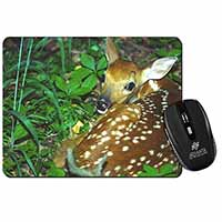 Baby Bambi Deer Computer Mouse Mat Birthday Gift Idea