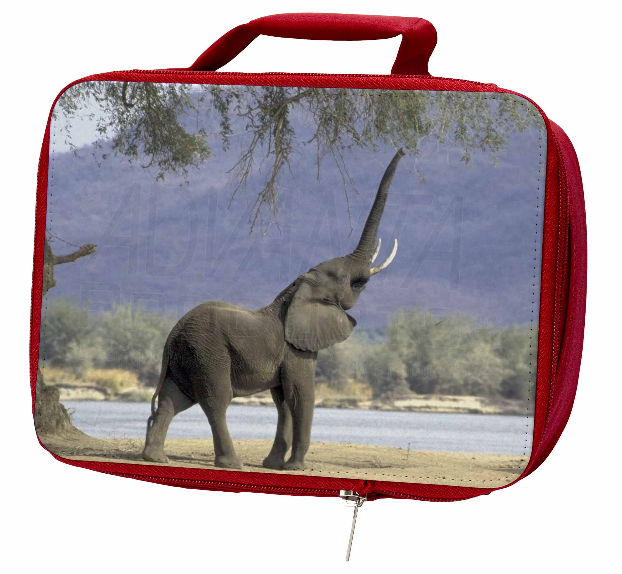 Baby Tuskers Elephant Insulated Box/Picnic Red School Lunch Box/Picnic Insulated Bag, AE-10LBR de71b6