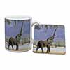 Baby Tuskers Elephant Mug+Coaster Christmas/Birthday Gift Idea