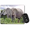 African Elephants Computer Mouse Mat Christmas Gift Idea