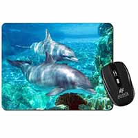 Dolphins Computer Mouse Mat Birthday Gift Idea