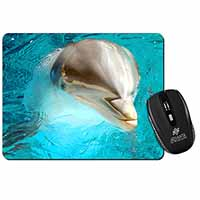 Dolphin Close-Up Computer Mouse Mat Birthday Gift Idea