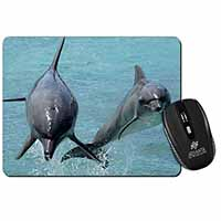 Jumping Dolphins Computer Mouse Mat Birthday Gift Idea