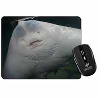 The Face of a Cute Stingray Computer Mouse Mat Birthday Gift Idea