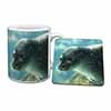 Sea Lion Mug+Coaster Christmas/Birthday Gift Idea