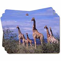 Giraffes Picture Placemats in Gift Box