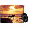 Sunset Horse Riding Computer Mouse Mat Christmas Gift Idea