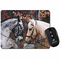 Horses in Love Animal Computer Mouse Mat Birthday Gift Idea
