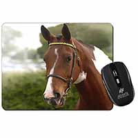 Beautiful Chestnut Horse Computer Mouse Mat Birthday Gift Idea