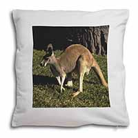 Kangaroo Soft Velvet Feel Scatter Cushion