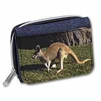 Kangaroo Girls/Ladies Denim Purse Wallet Birthday Gift Idea