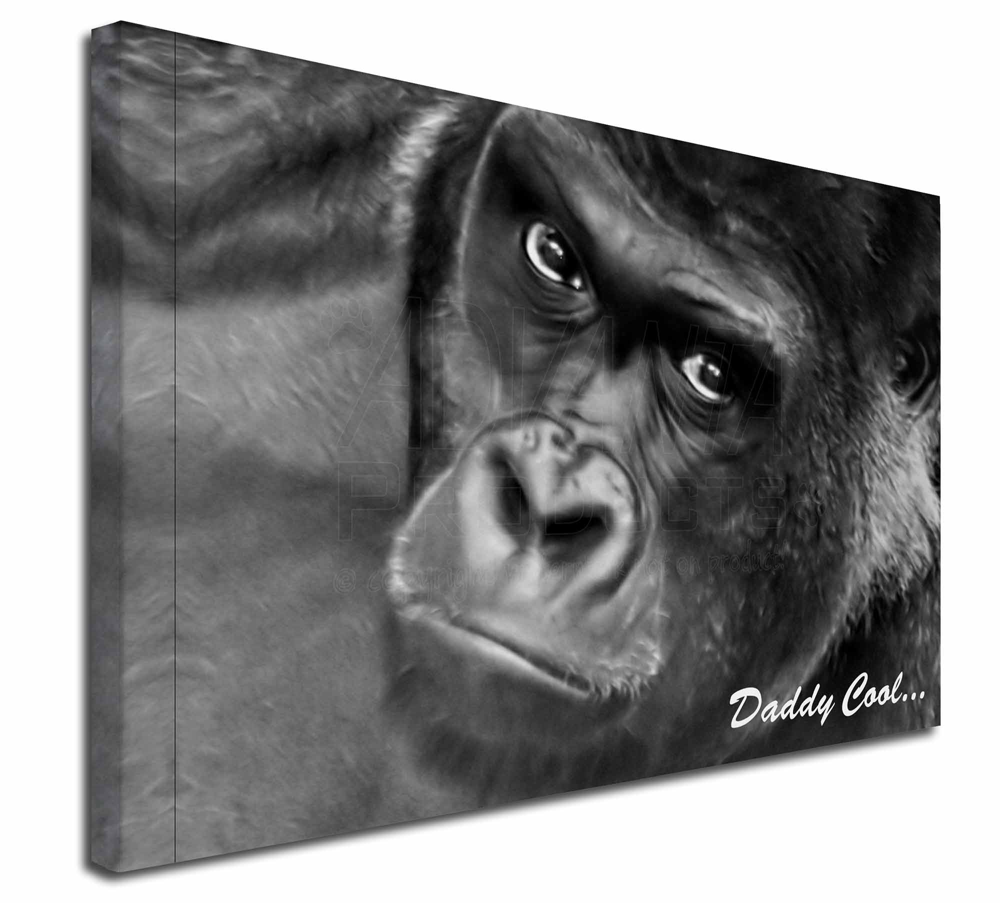 AM-13M Gorilla /'Daddy Cool/' Fathers Day Dad Gift Computer Mouse Mat Christmas G