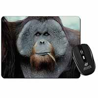 Handsome Orangutan Computer Mouse Mat Birthday Gift Idea