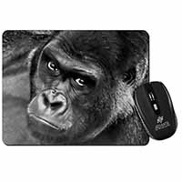Handsome Silverback Gorilla Computer Mouse Mat Birthday Gift Idea