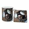 Marmoset Monkey Mug+Coaster Christmas/Birthday Gift Idea