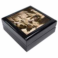 Meerkats Keepsake/Jewellery Box Birthday Gift Idea