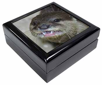 Cheeky Otters Face Keepsake/Jewel Box Birthday Gift Idea